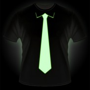 Glow Tie T-shirt