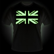 Glow T-Shirt Union Jack