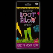 UV Glow Wellie Stickers