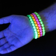 UV Neon Beads Bracelets