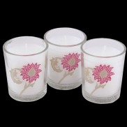 Victoria & Albert Printed Candle Set