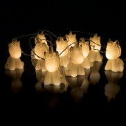 Warm White Battery Operated Unicorn Stringlights