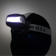Wind Up 3 LED Headlamp