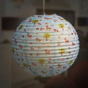Woodland Animals Lampshade