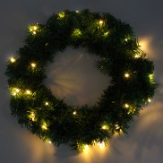 40cm Wreath Nite Lights