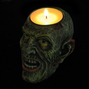 Zombie Head Tealight Holder