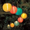 10 Round Silk Lantern Stringlights