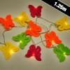10 LED Butterfly Lights (16540)