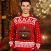 Crackling Fireplace Christmas Jumper
