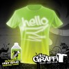 Glow Graffi T Tee Shirt