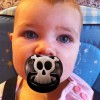 Pirate Skull Glow Pacifier