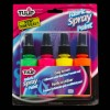 Neon Fabric Spray Paint (4 Pack)