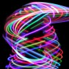 Rainbow Led Hula Hoops