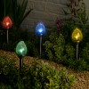 Solar Crackle Flame Stakes (4 Pack)