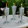Stainless Steel Tabletop Garden Torch (Singular)