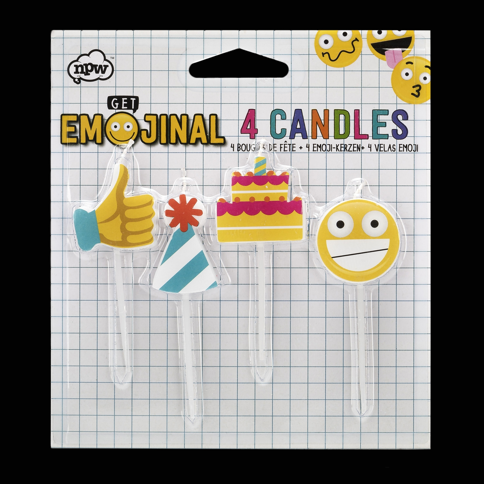 Click to view product details and reviews for Emoji Birthday Candles.