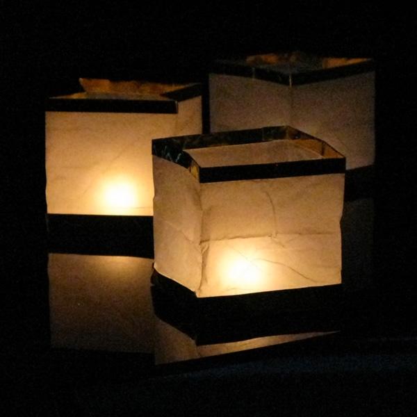 Как сделать водный фонарик своими руками куб 62