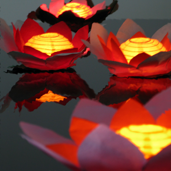 Click to view product details and reviews for Floating Flower Water Lanterns.