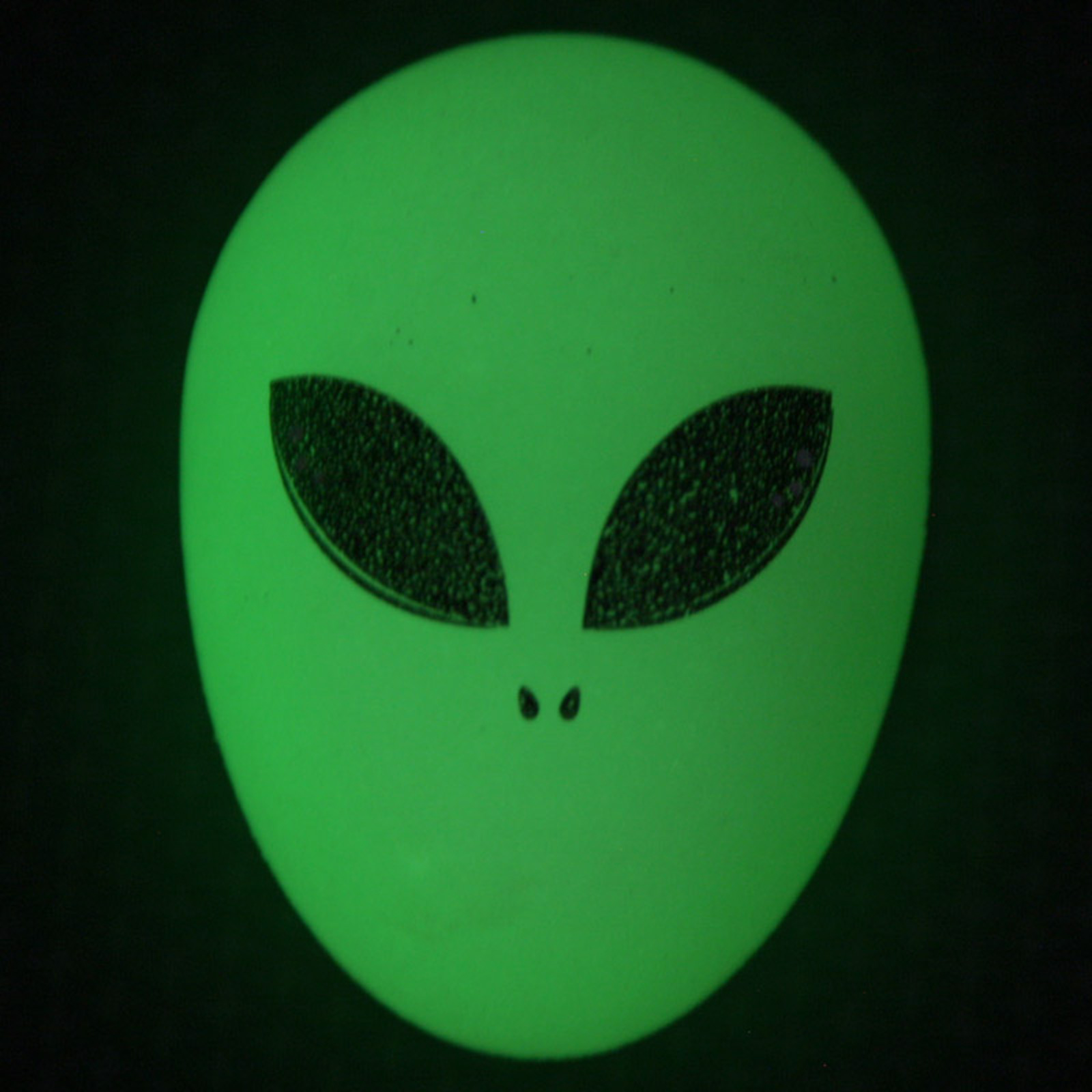 Glow Bouncy Alien Head