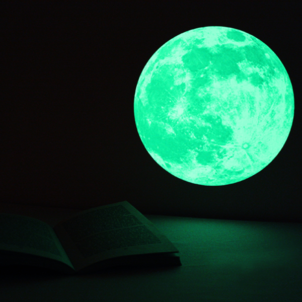 Click to view product details and reviews for Medium Glow Moon Sticker Pack.