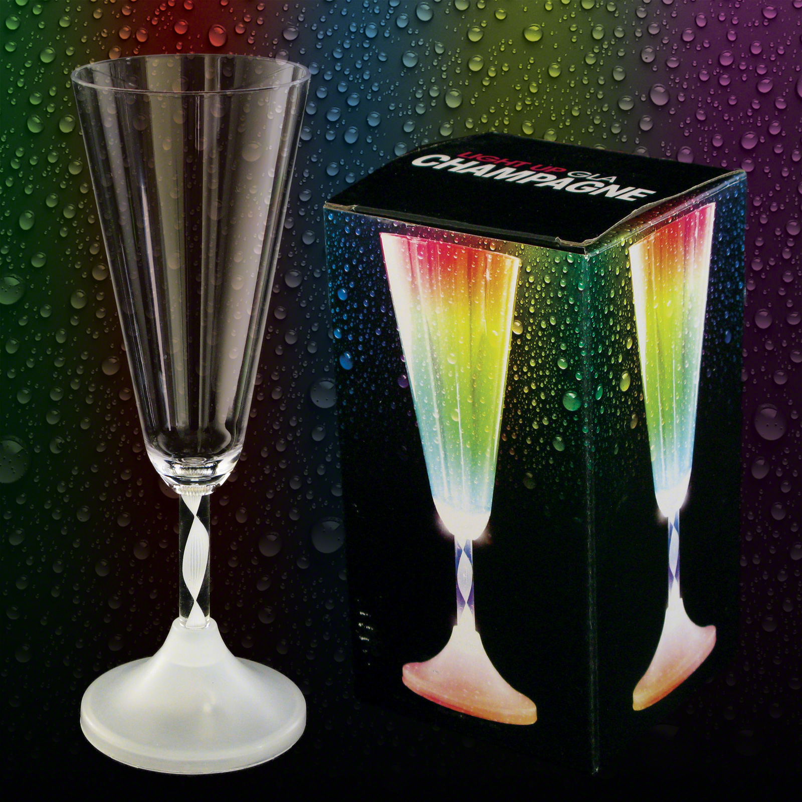 Click to view product details and reviews for Light Up Champagne Glass.