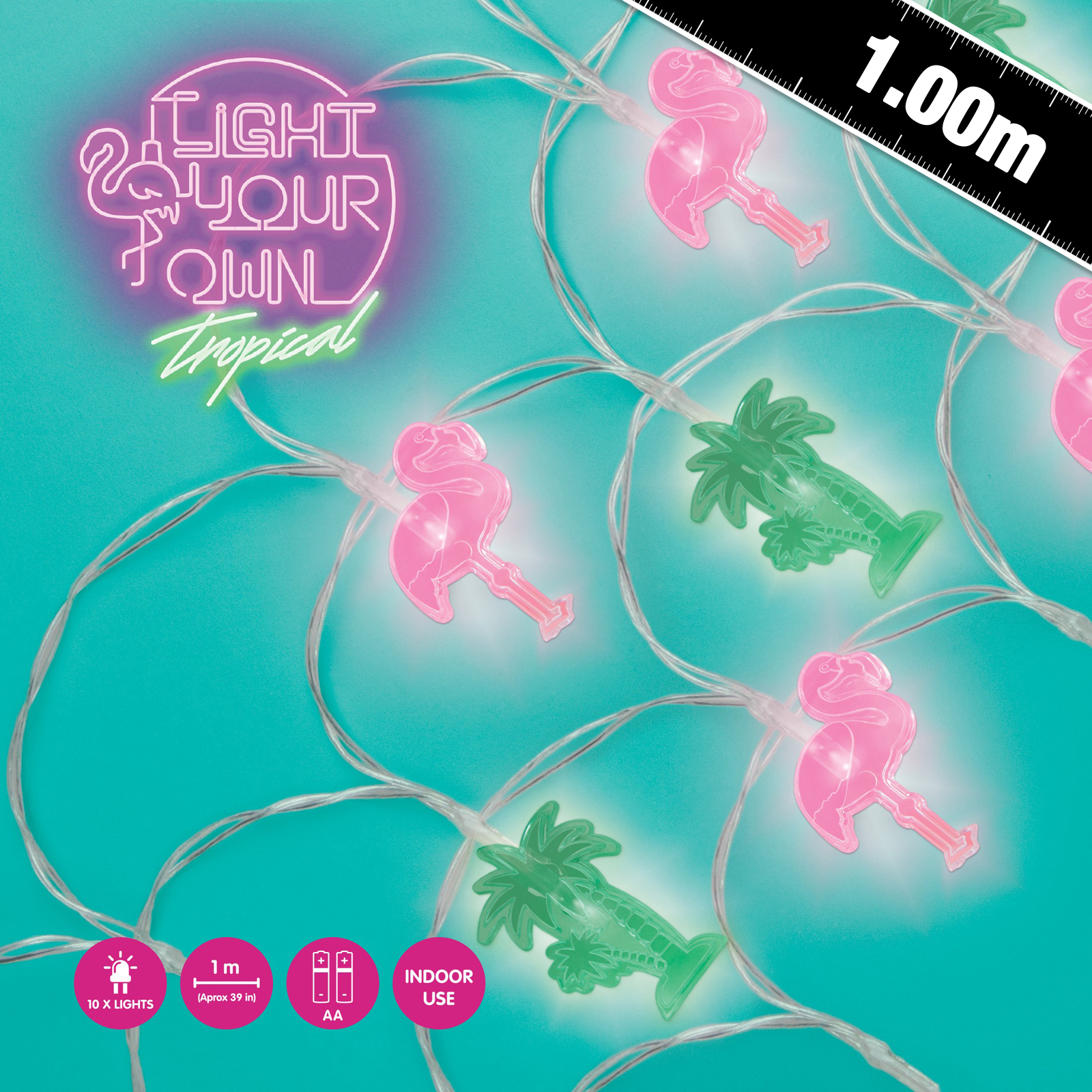 Click to view product details and reviews for Light Your Own Tropical Fairy Lights.
