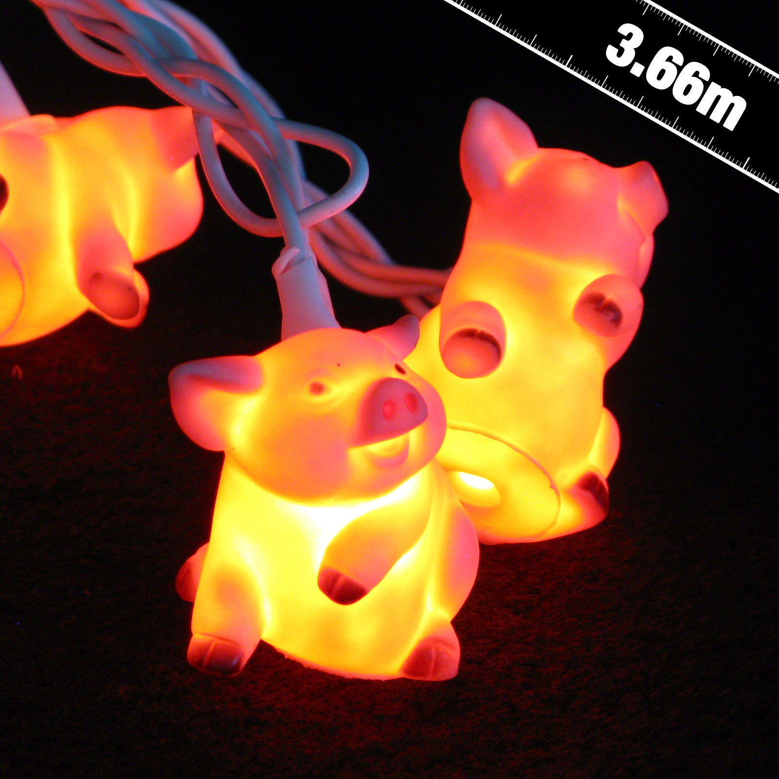Click to view product details and reviews for Little Piggies Stringlights.
