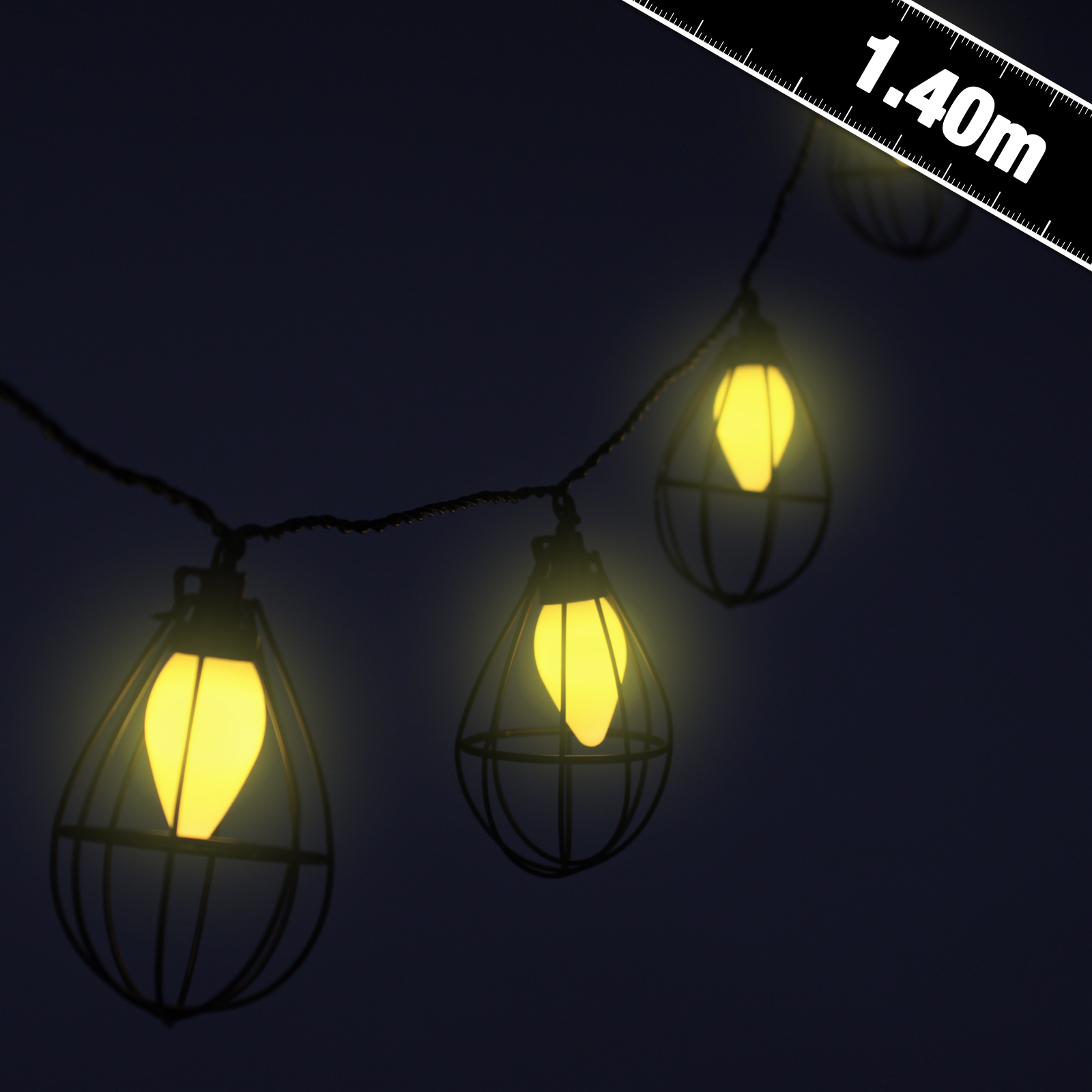 Metropolis Industrial String Lights - Party Supplies - Countyfetes