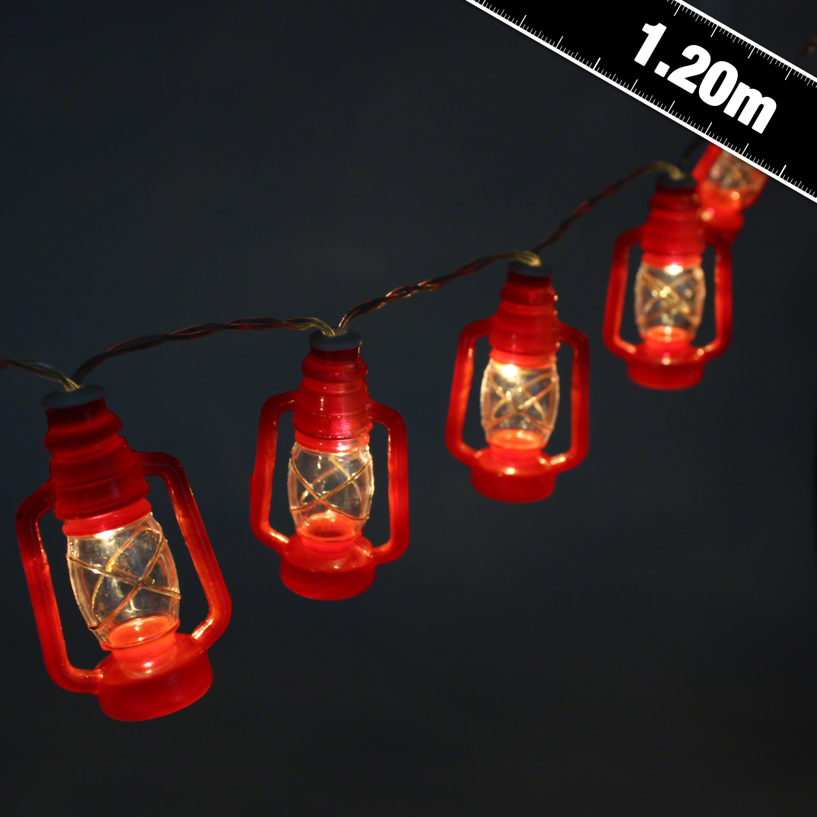 Monkey Party String Lights : Mini Storm Lantern Stringlights - Party Supplies - Countyfetes