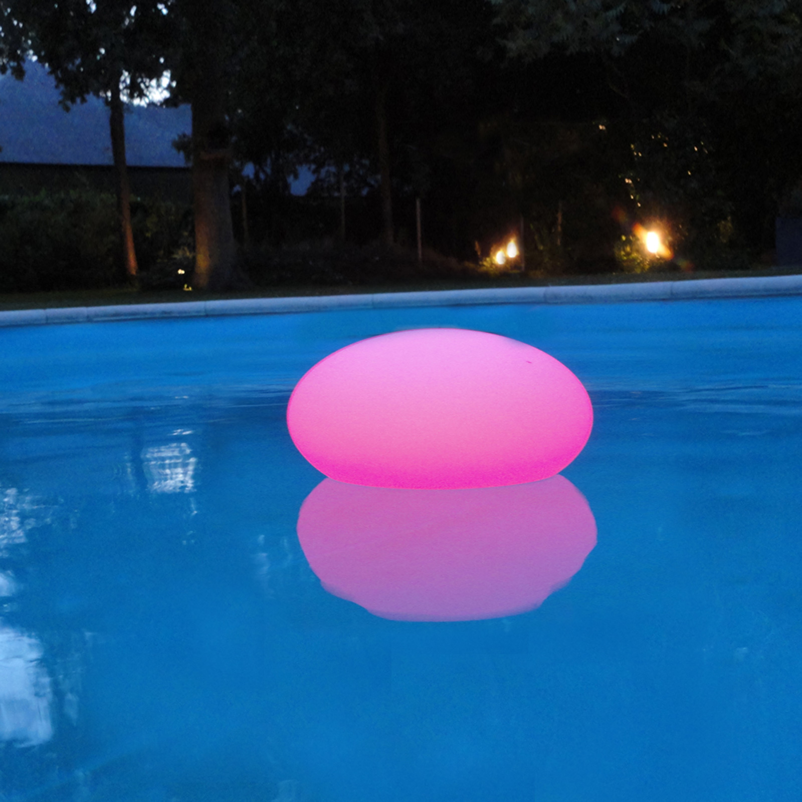 Oval Led Outdoor Pool Light Floating Colour Change Patio Swimming Pool Gar Ebay