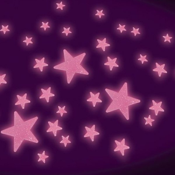 Click to view product details and reviews for Pink Glow Stars.
