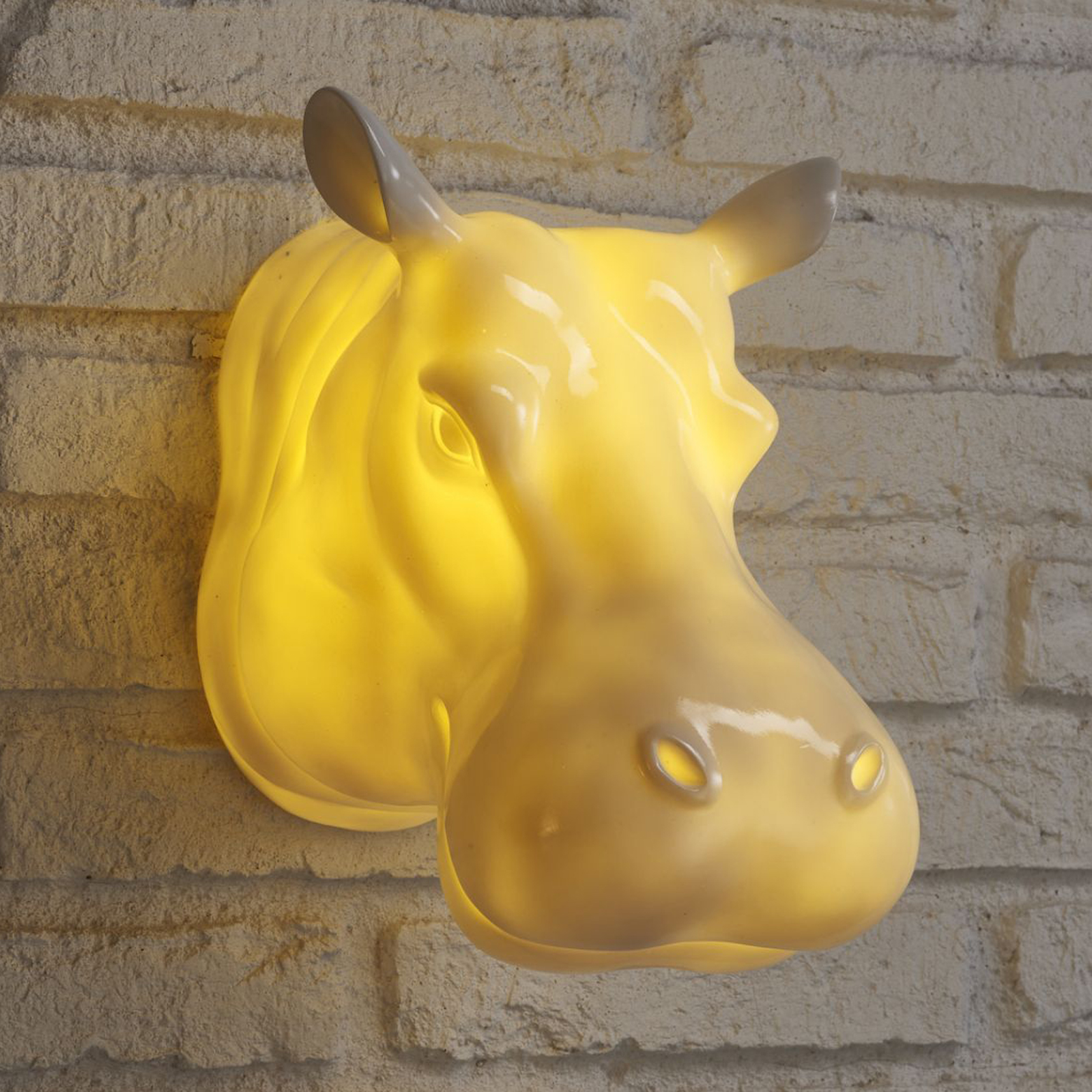 Retro Hippo Wall Light