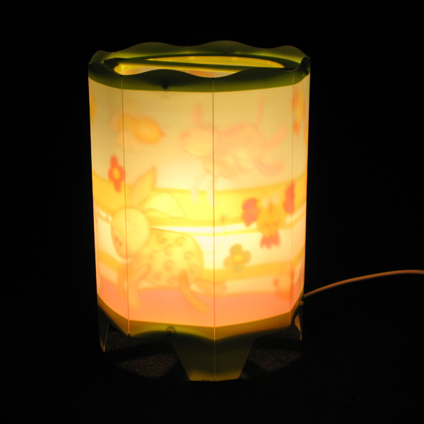 Farmyard Animal Rotating Lamp