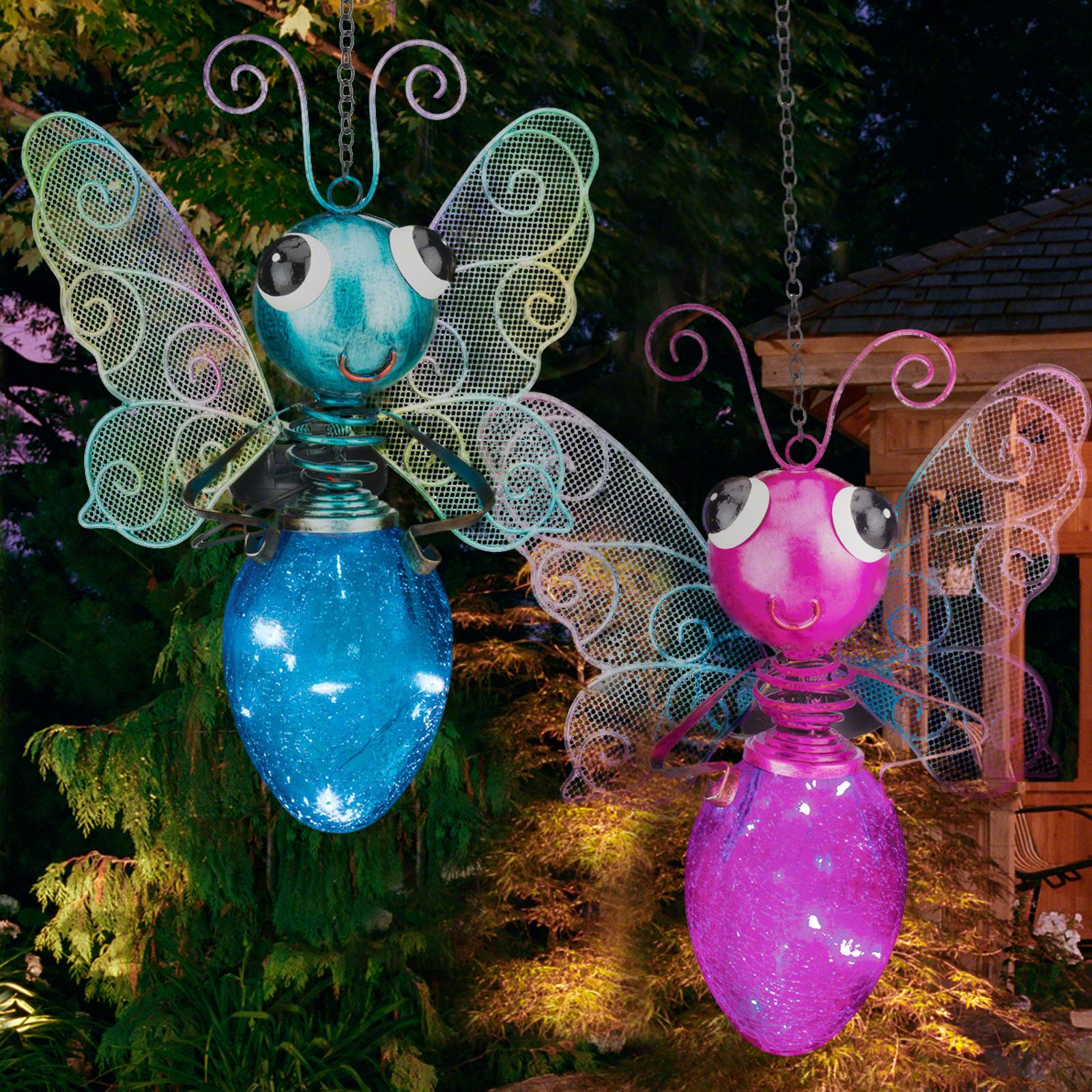 Solar Butterfly Lantern Light