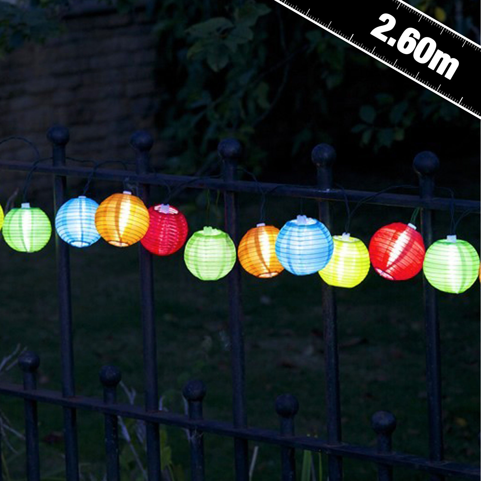 Click to view product details and reviews for Solar Chinese Lantern String Lights.