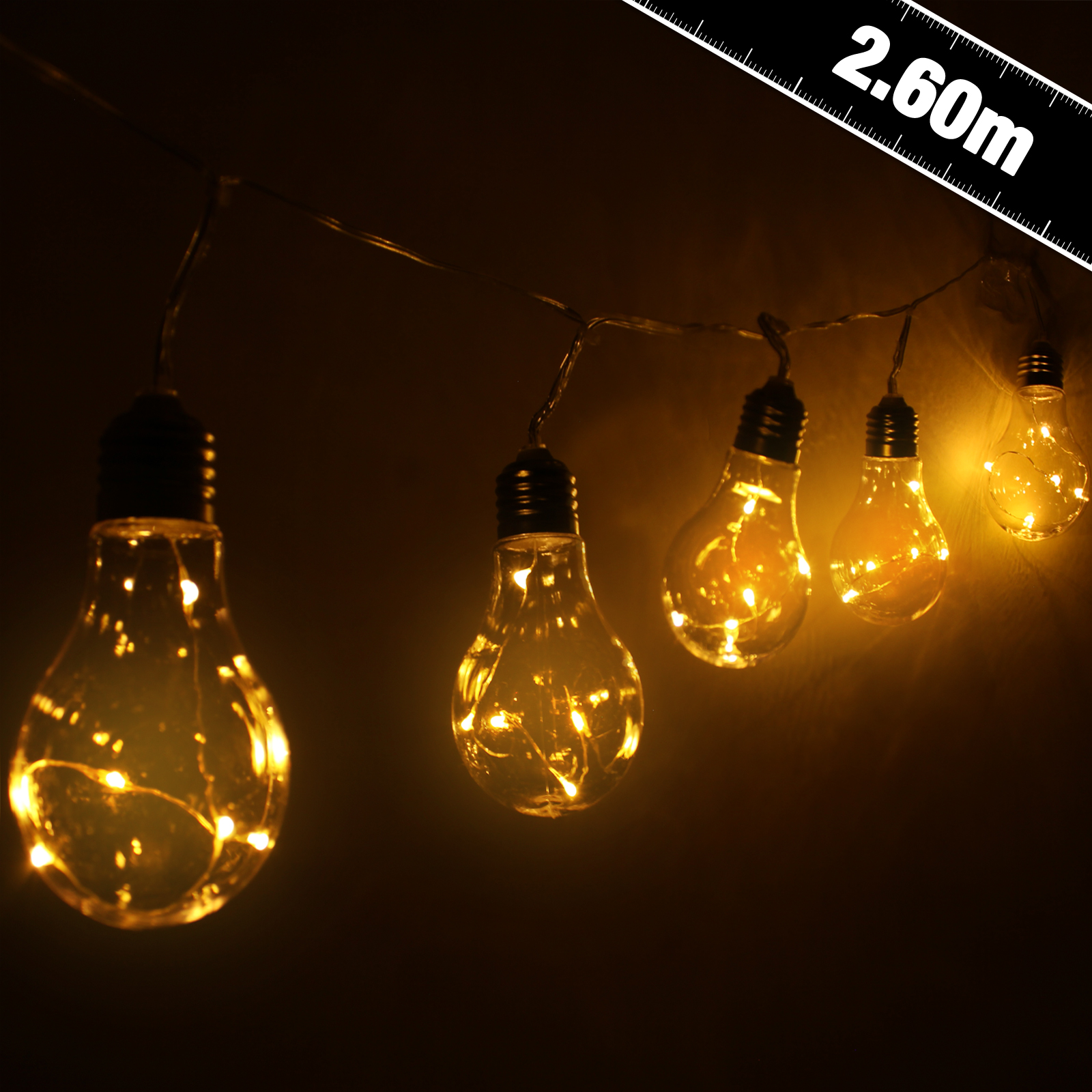 Click to view product details and reviews for 5 Solar Light Bulbs Warm White.