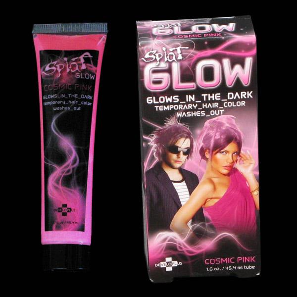 Splat Glow Hair Colour Temporary Hair Colour Glow In The Dark