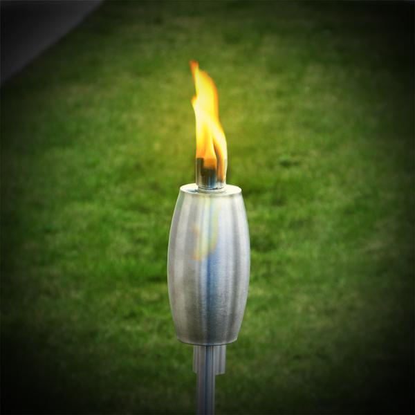 Stainless Steel Garden Torch 1.15m