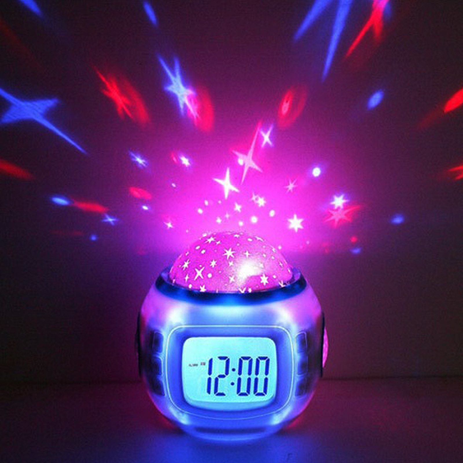 Click to view product details and reviews for Star Projector Alarm Clock.