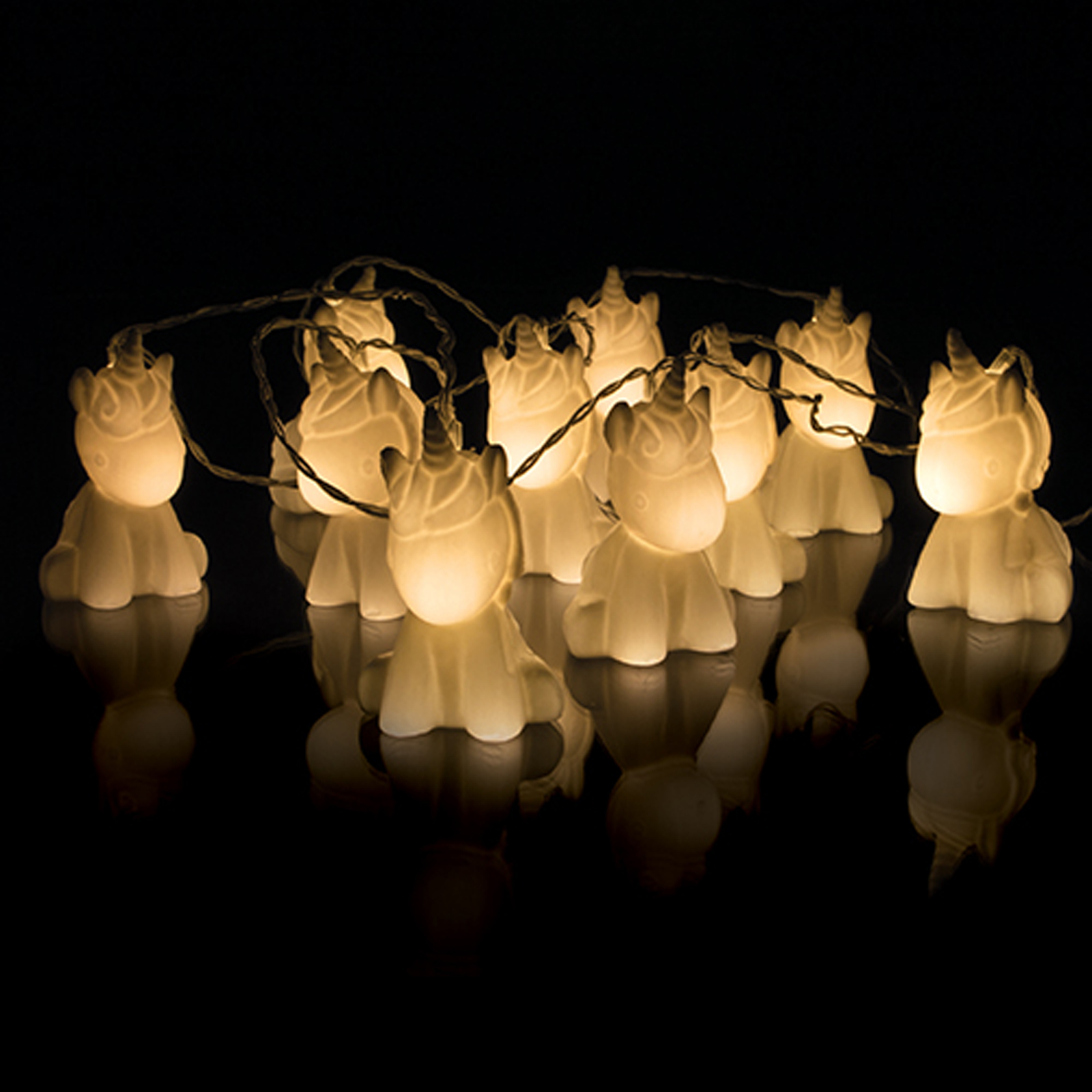 Click to view product details and reviews for Warm White Battery Operated Unicorn Stringlights.