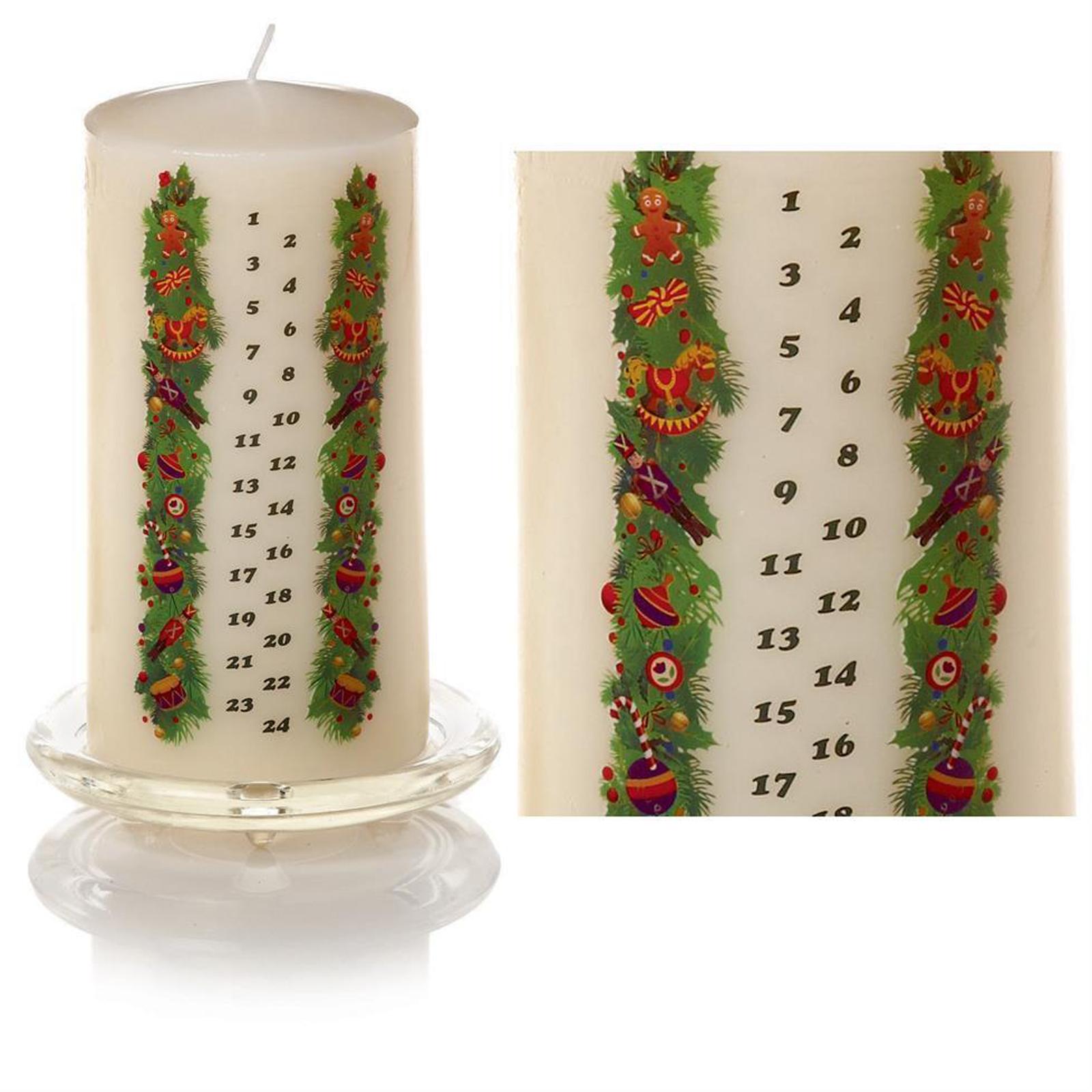 Xmas Advent Calendar Candle