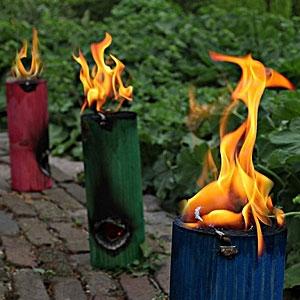 Real Flames Garden