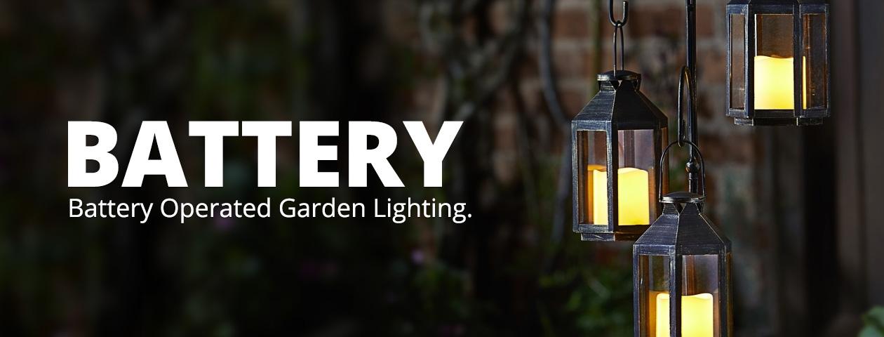Battery Operated Garden Lighting