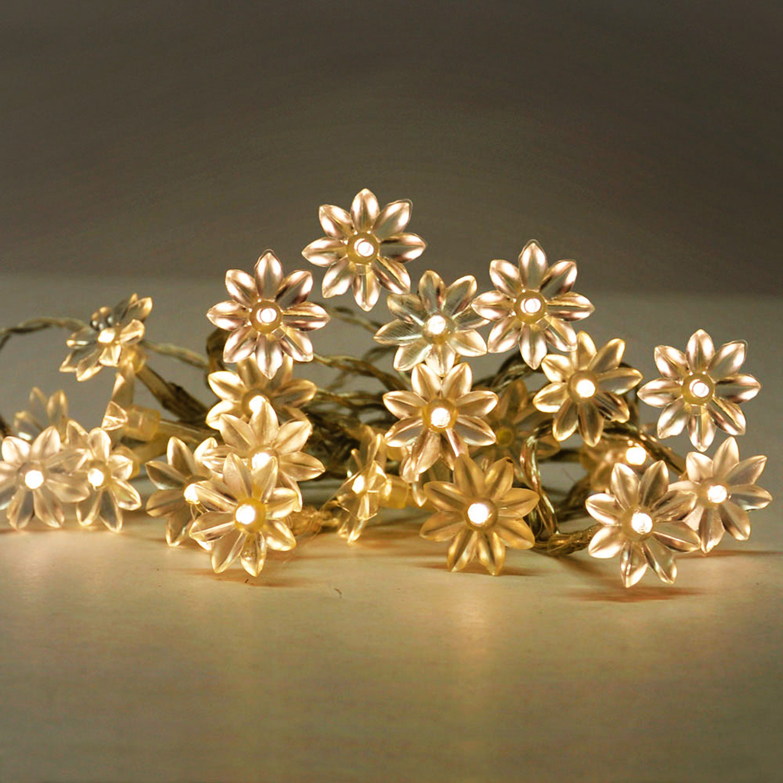 Click to view product details and reviews for 20 Led Sunflowers Warm White 16541.