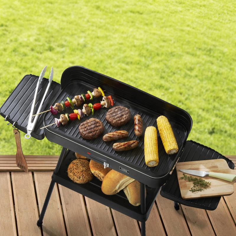 2200w Indoor Outdoor Electric Barbecue Grill
