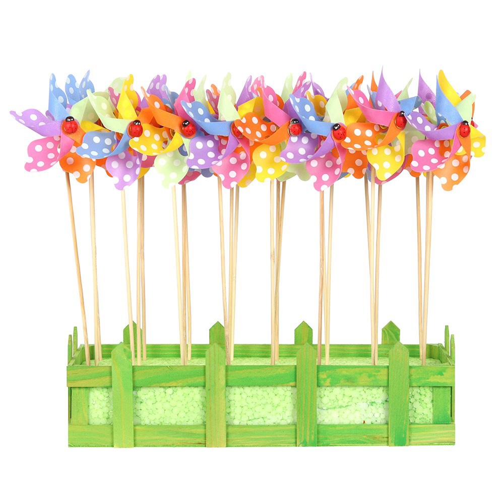 Click to view product details and reviews for 24 Mini Pinwheels.