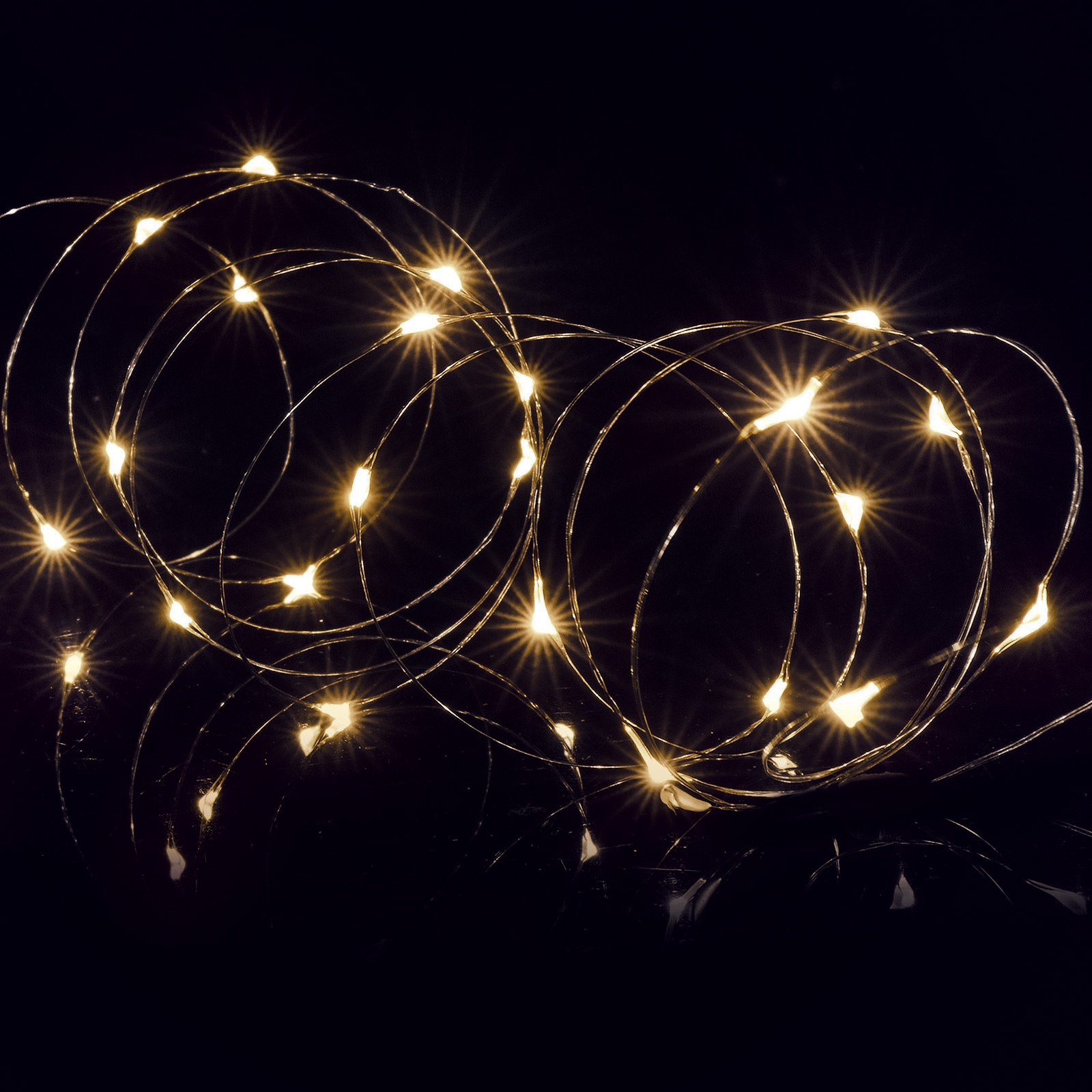 Click to view product details and reviews for Battery Operated 100 Led Micro Bright Timer Lights Warm White.