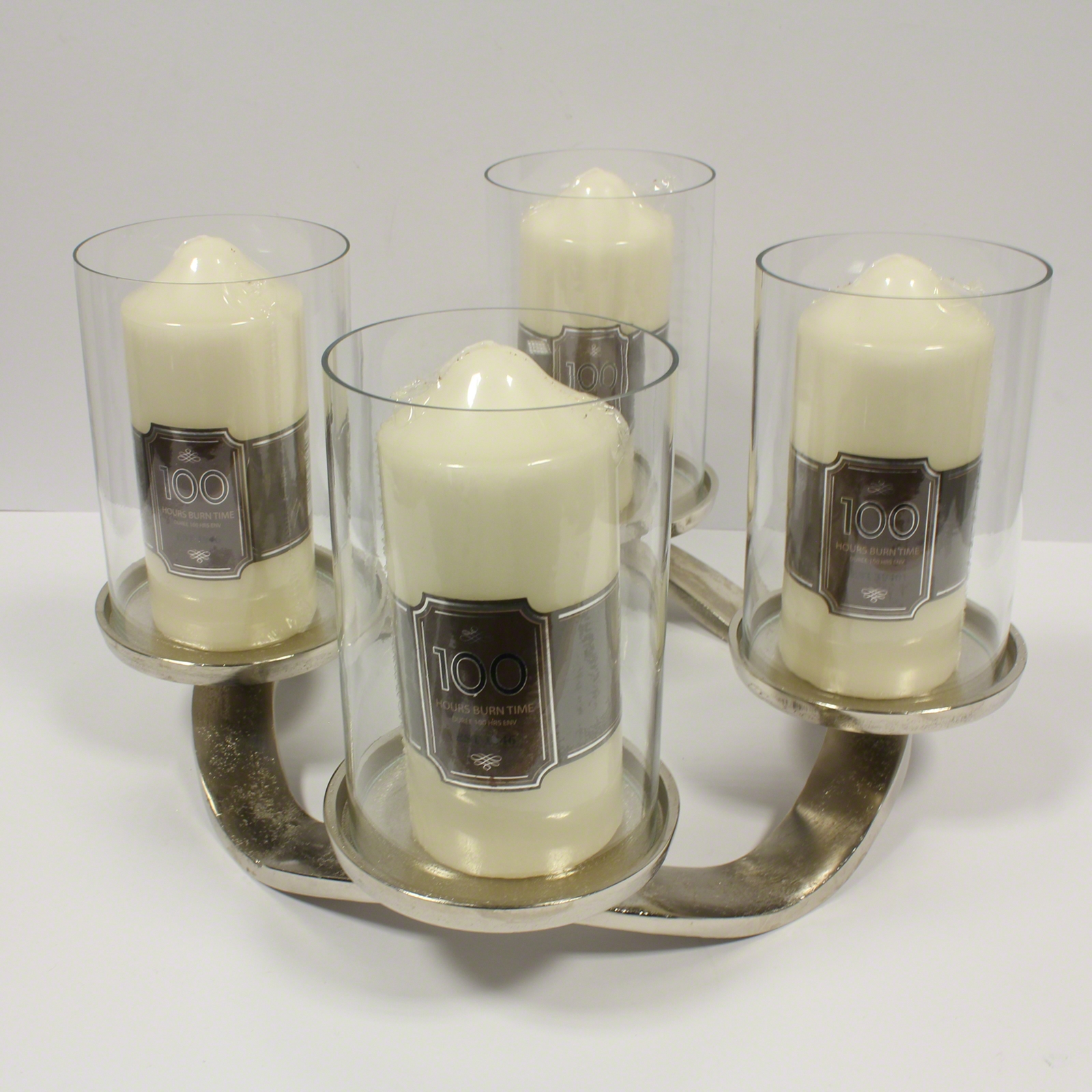 Click to view product details and reviews for 36cm Pillar Candle Holder.