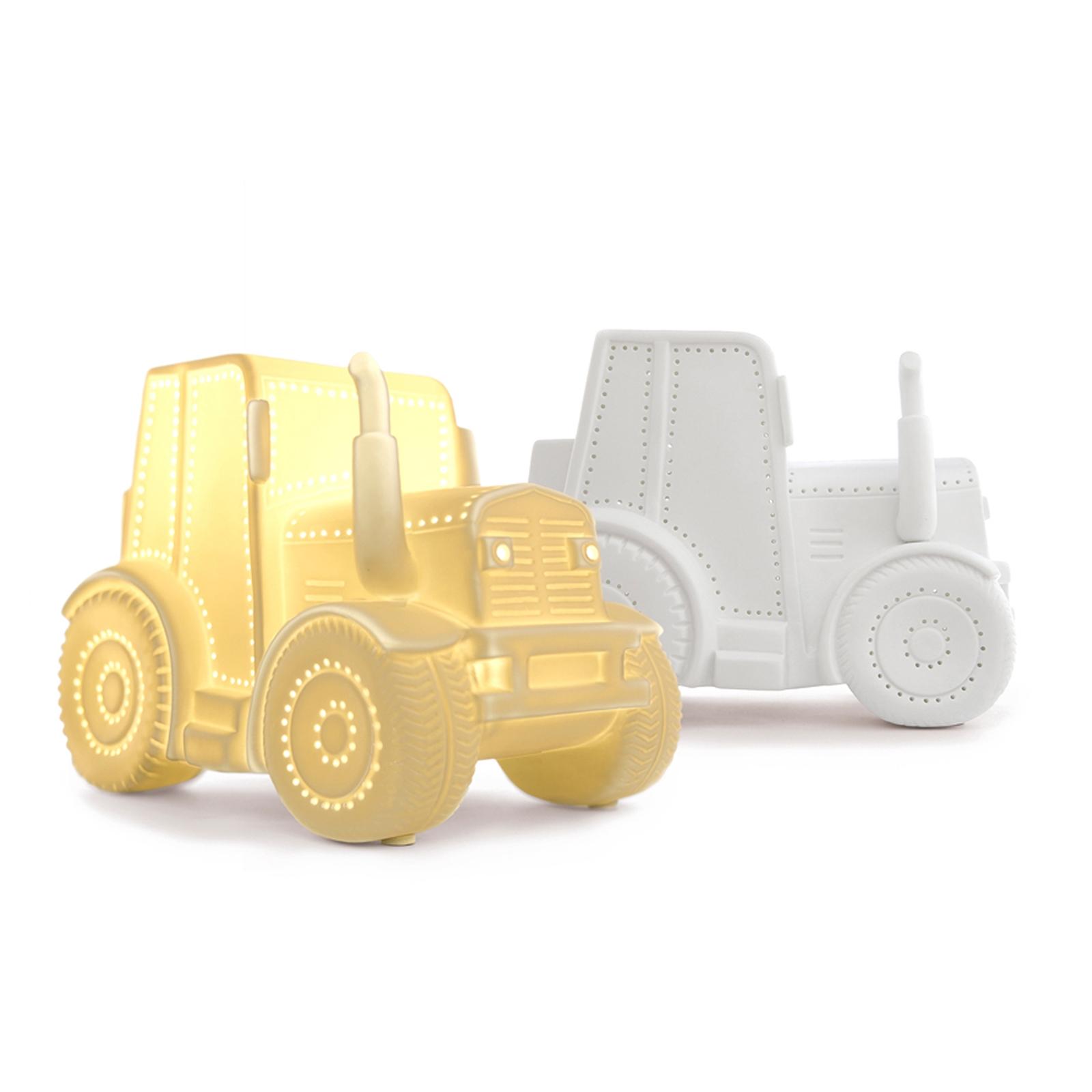 3d Ceramic Lamp Tractor