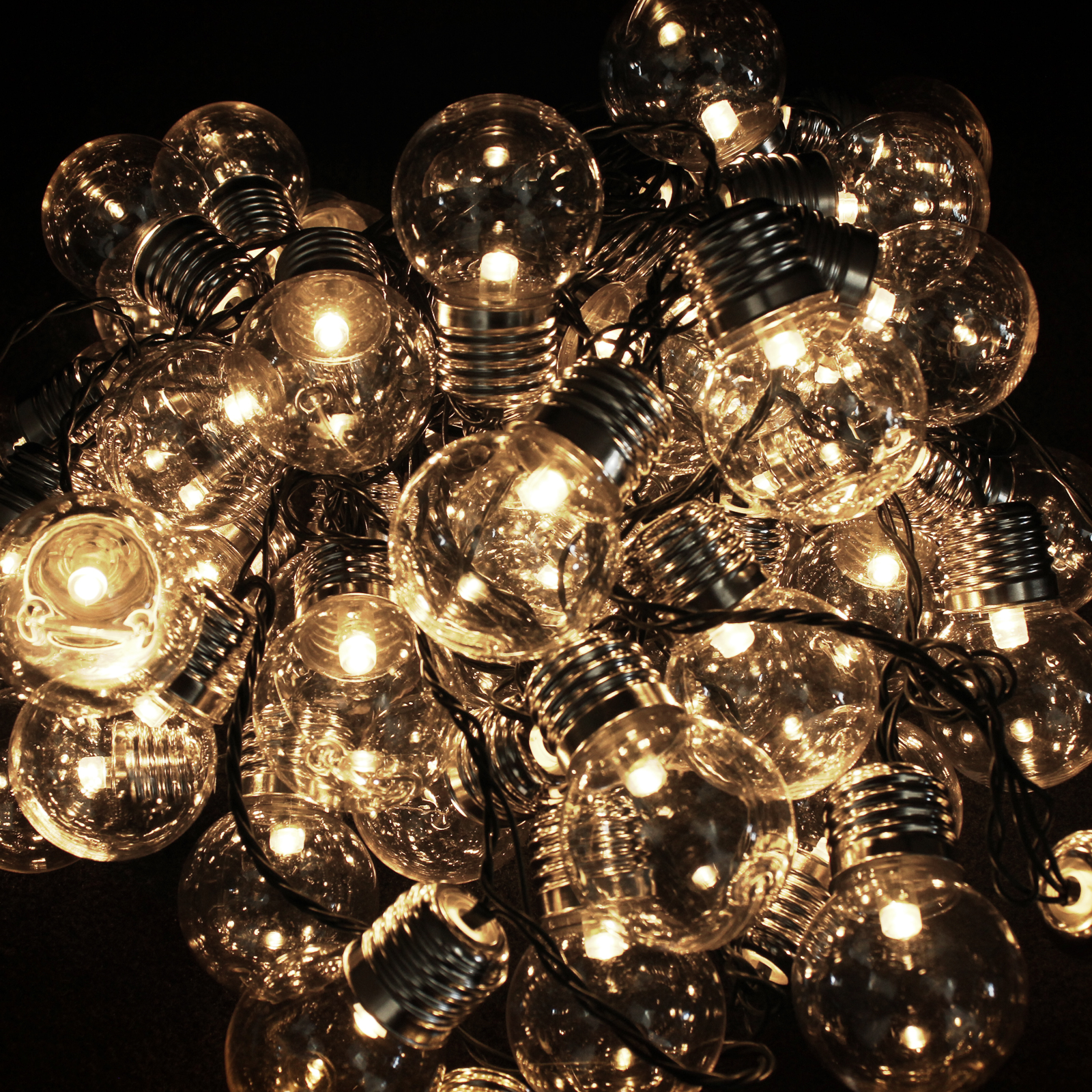 Click to view product details and reviews for 50 Led Warm White Retro Lights.